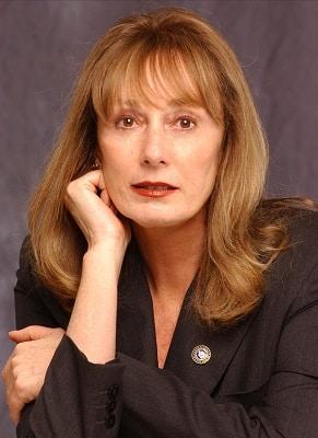 Spy thriller writer Gayle Lynds