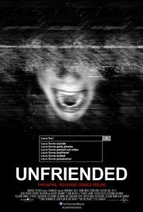 YA Supernatural Thriller Unfriended