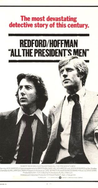 Political Thriller Movies All The President's Men