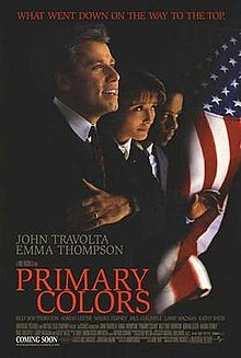 Political Thriller Movies Primary Colors