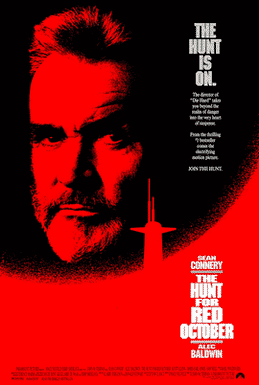 best political thriller movies The Hunt for Red October