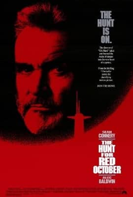 Spy Thriller Books to Movies HUNT FOR RED OCTOBER