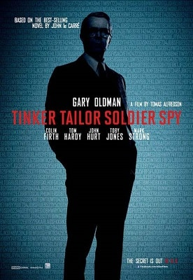 Spy Thriller Books to Movies TINKER TAILOR SOLDIER SPY