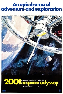 Sci-fi conspiracy thriller movies A SPACE ODYSEE