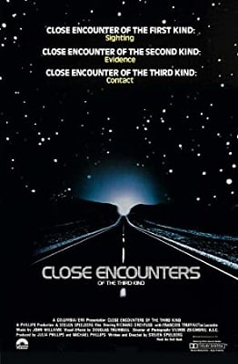 Sci-fi conspiracy thriller movies CLOSE ENCOUNTERS