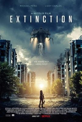 Sci-fi conspiracy thriller movies EXTINCTION