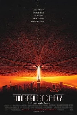 Sci-fi conspiracy thriller movies INDEPENDENCE DAY