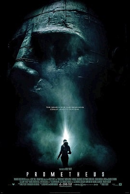 Sci-fi conspiracy thriller movies PROMETHEUS