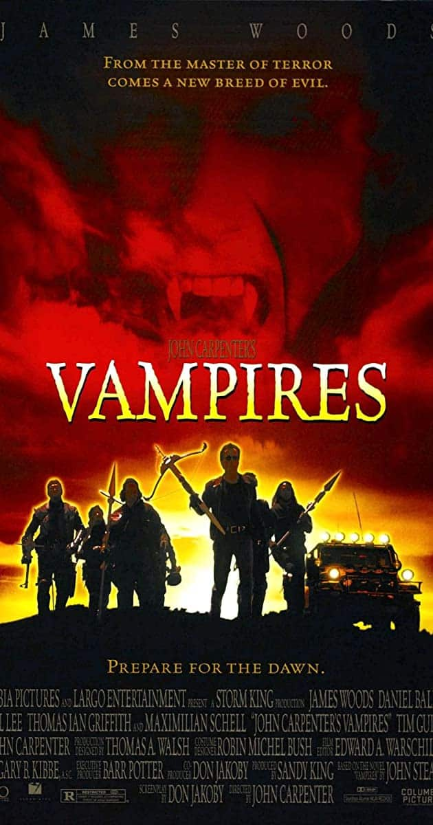 Best John Carpenter Movies VAMPIRES