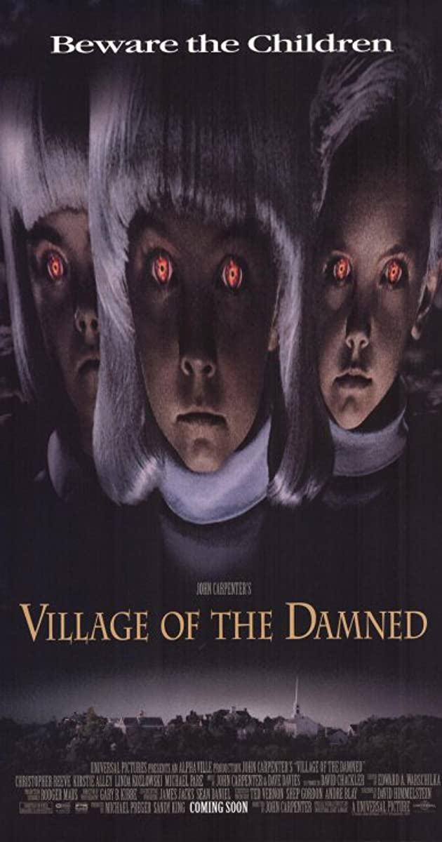 Best John Carpenter Movies VILLAGE OF THE DAMNED