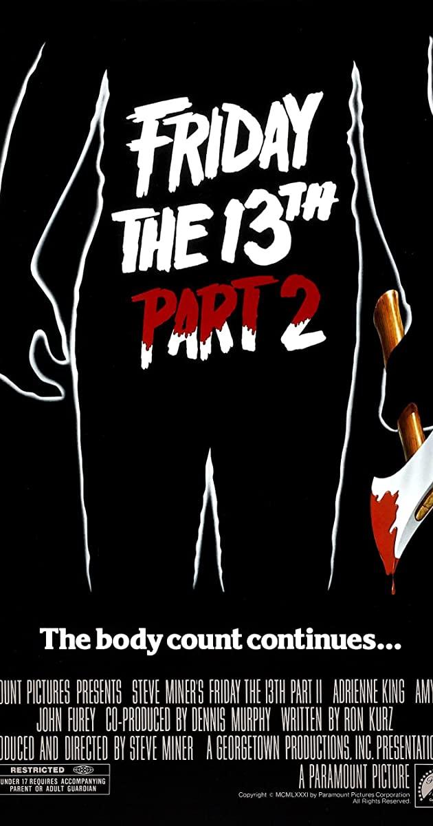 Slasher Horror Girl FRIDAY THE 13th PART 2