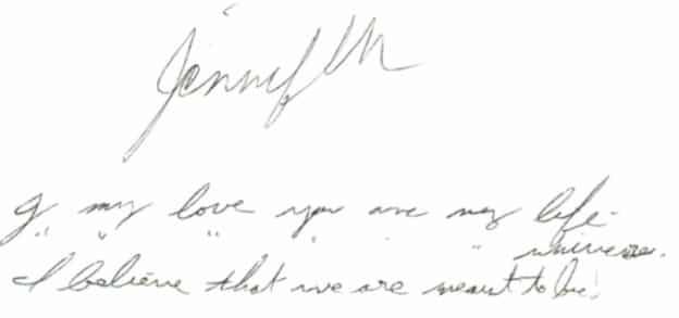 handwriting that kills
